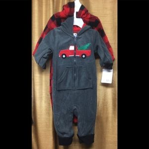 2 Hudson Baby Onepiece Holiday Outfits